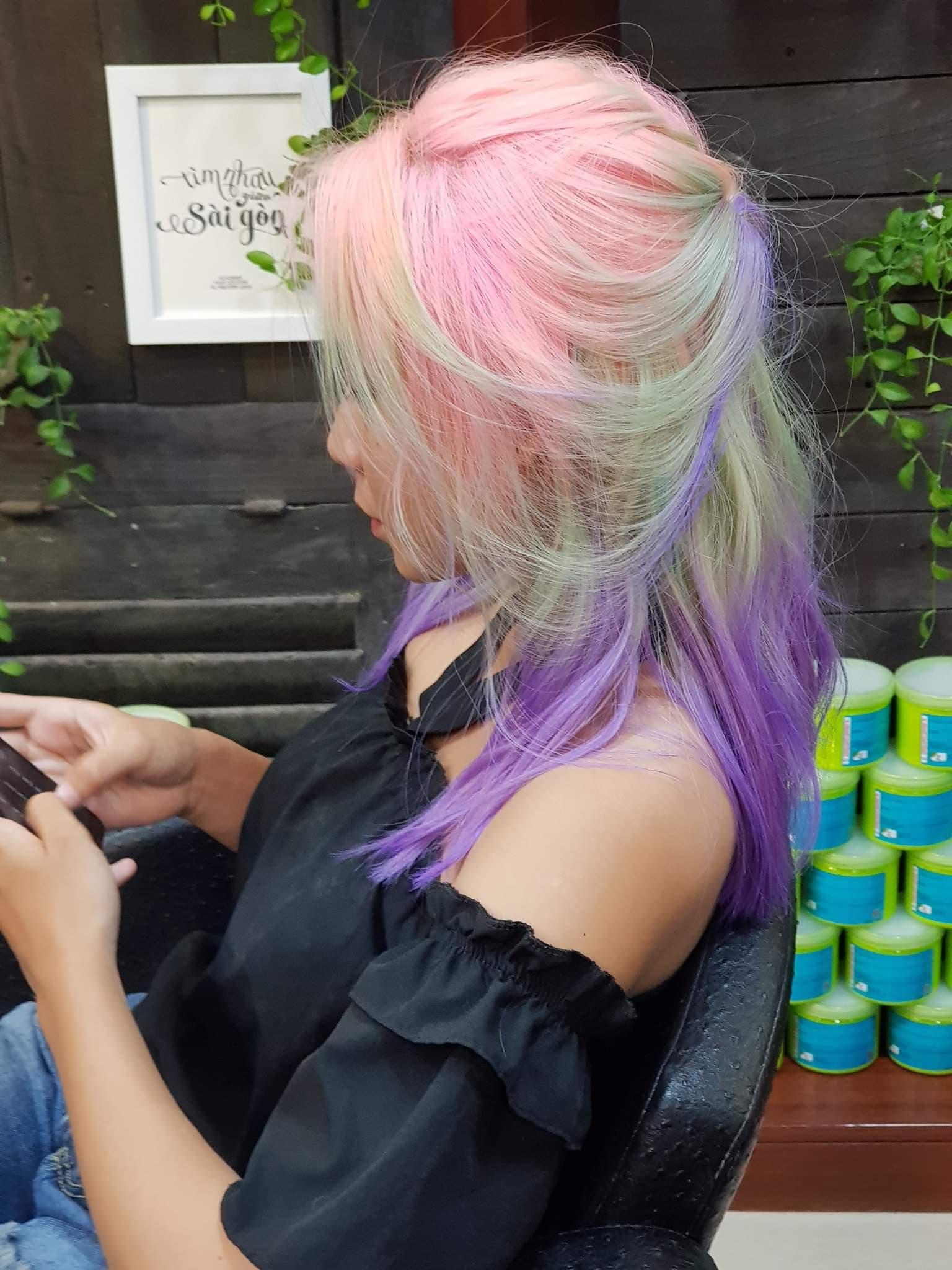 HCM - Labella Hair Beauty Salon - Voucher Tặng 19.000đ Combo Uốn/Duỗi/Nhuộm + Hấp Collagen Đang Có Khuyến Mãi