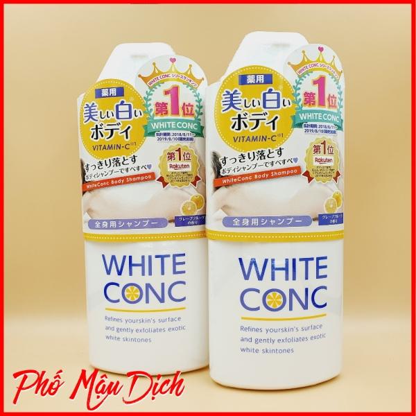 Sữa Tắm Trắng White Conc Body Vitamin C 360ml giá rẻ