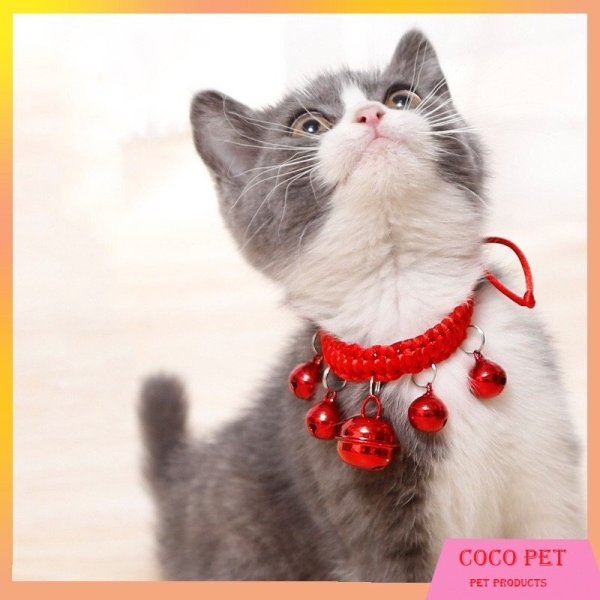 Vòng Cổ Có Chuông Lục Lạc Dễ Thương Cho Mèo