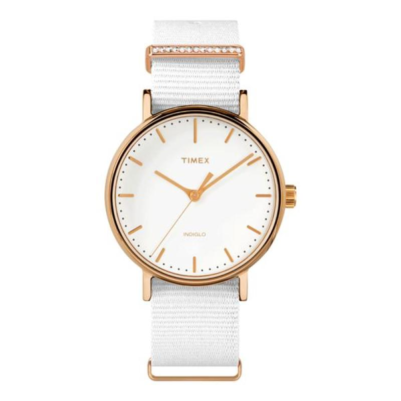 Đồng hồ Nữ Timex Fairfield Women's Crystal - TW2R49100
