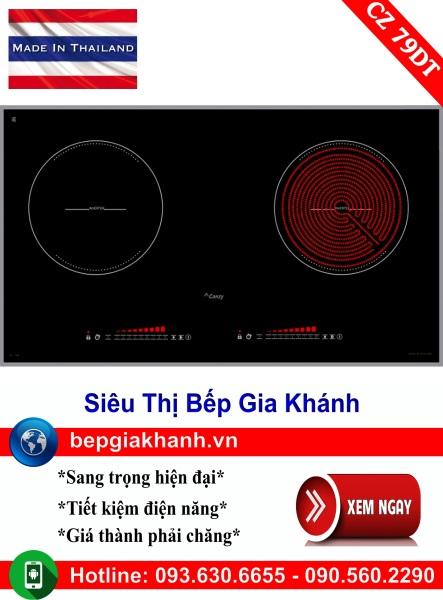 Bếp điện từ 2 vùng nấu Canzy CZ 79DT nhập khẩu Thái Lan, bếp điện từ, bếp điện từ đôi âm, bếp điện từ đôi, bếp điện từ đôi đức, bếp điện từ đôi nhật, bếp điện từ giá rẻ, bep dien tu gia re, bep dien tu hong ngoai