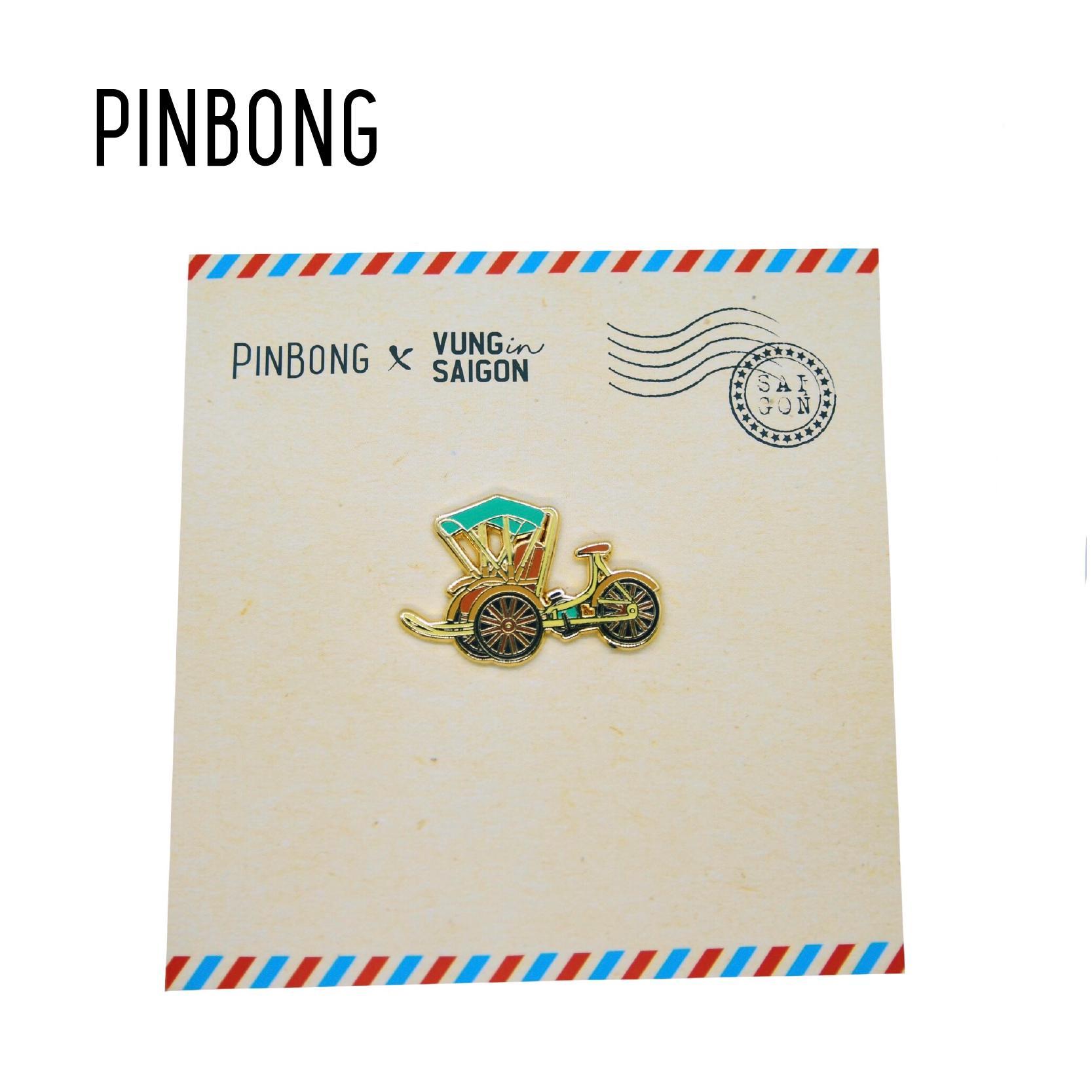 Huy hiệu Xích Lô PINBONG