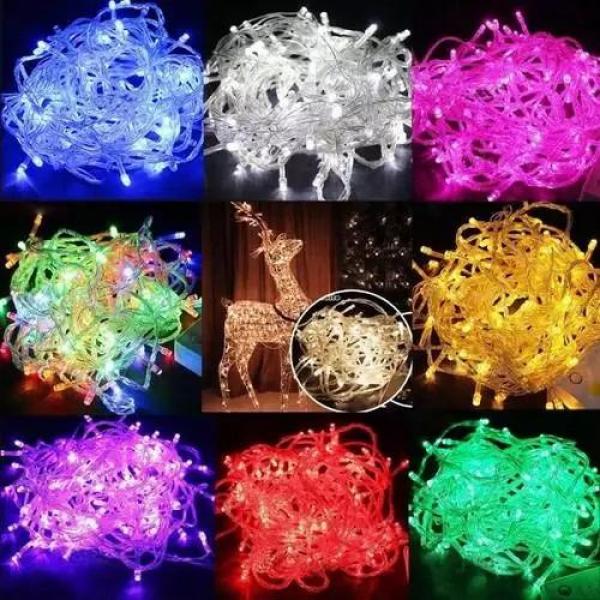 Bảng giá [Đón Noel Tết] Dây Đèn Nhấp Nháy 5m Nhiều Màu. Dây đèn nhiều màu cho bạn lựa chọn.Công suất : 1.8w đến 4,8w cho 1 bộ dây đèn