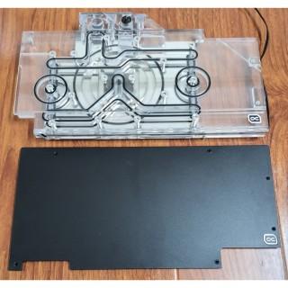 Block tản nhiệt vga Alphacool Eisblock Aurora Acryl GPX-N RTX 3090 3080 ROG Strix mit Backplate thumbnail