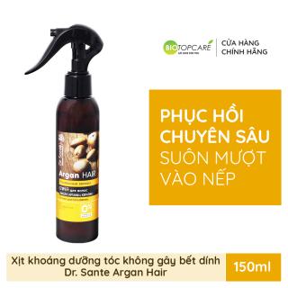 Xịt dưỡng phục hồi tóc thương tổn Argan Hair (0% paraben và hóa chất) 150ml thumbnail