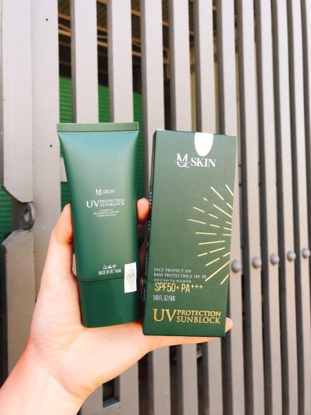 [Chính hãng MQ Skin] Kem chống nắng Mq Skin  sản xuất tại VN.