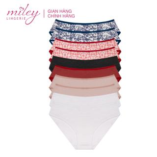 Combo 10 Quần Lót Nữ Cotton Flexi Miley Lingerie - Giao màu ngẫu nhiên thumbnail