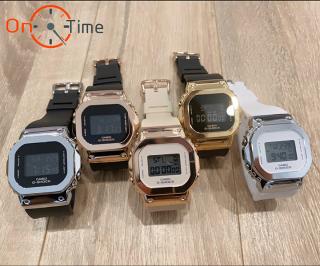 [ Đ ] Đồng hồ đeo tay Nam nữ Casio GM-S5600 vỏ thép OneTime (full 5 màu lựa chọn) thumbnail