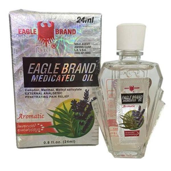 Dầu gió Con Ó Trắng Eagle Brand hương Lavender giá rẻ
