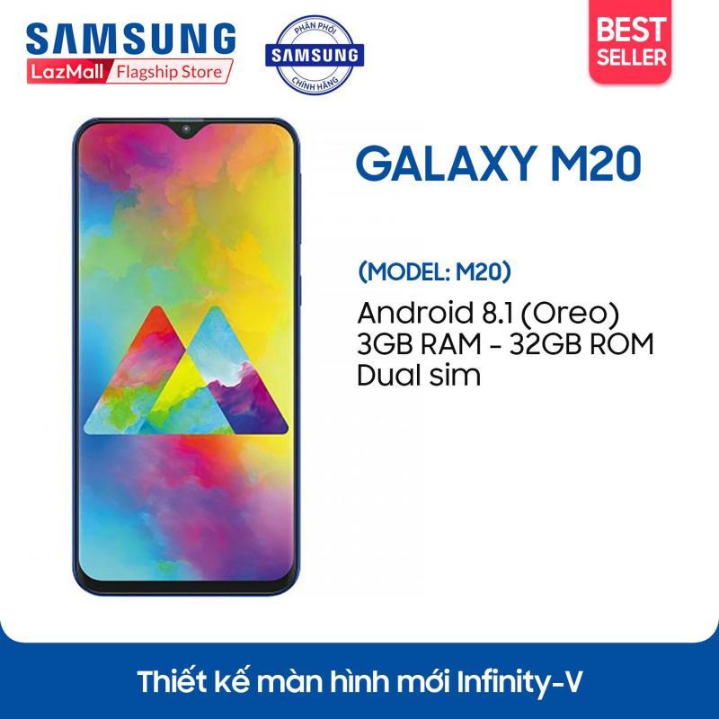 Điện thoại Samsung Galaxy M20 - 3GB RAM - 32GB ROM - 6.3 inch -  - Android điện thoại thông minh