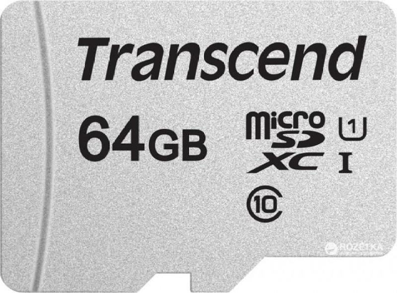 Thẻ nhớ micro SD 64GB Transcend Class 10