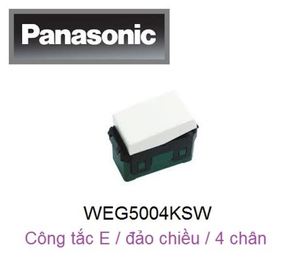 Panasonic - Công tắc E, Đảo chiều 16A ( 4 chấu ) - WEG5004KSW / WEVH5004 / WEG5004KH (Sử dụng cho : Series WIDE / Halumie / BS Type / Minerva)