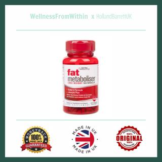 Viên Uống Hỗ Trợ Giảm Cân - Chuyển Hóa Chất Béo Nutrition Headquarters Fat Metaboliser UK (Hộp 120 Viên) - Bill Anh quốc thumbnail