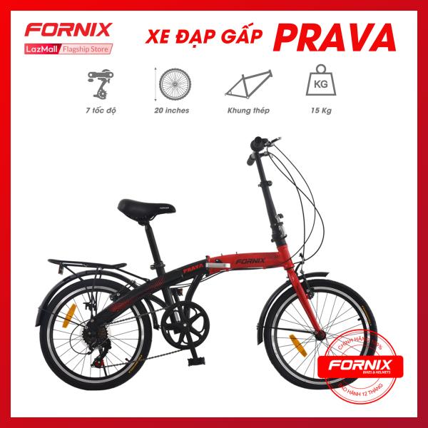 Mua Xe đạp gấp hiệu FORNIX PRAVA (NEW) - Vòng bánh 20 inch - Bảo hành 12 tháng