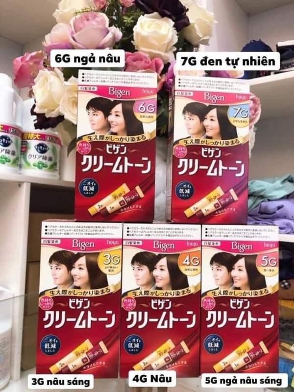 Thuốc nhuộm tóc Bigen Nhật Bản cao cấp