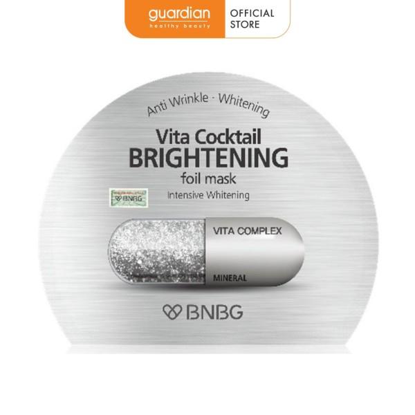 Mặt nạ sáng da BNBG Vita Cocktail Brightening Foil Mask Intensive Whitening 30ml giá rẻ
