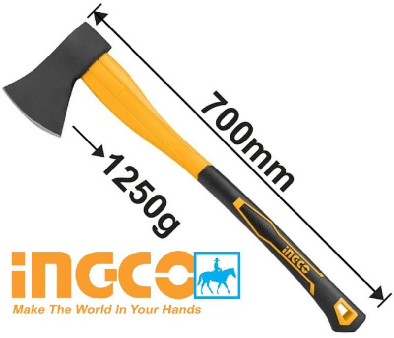 Búa rìu cán nhựa lõi thép 1250g dài 70cm Ingco HAX02012508 - HAX02012508, cam kết hàng đúng mô tả, chất lượng, inbox shop để được tư vấn thêm