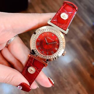 Đồng hồ nữ VERSACEO sang trọng size 34mm ,fullbox , đồng hồ nữ dây da cao cấp,đồng hồ nữ dây da chống nước, Kiwi xanh thumbnail