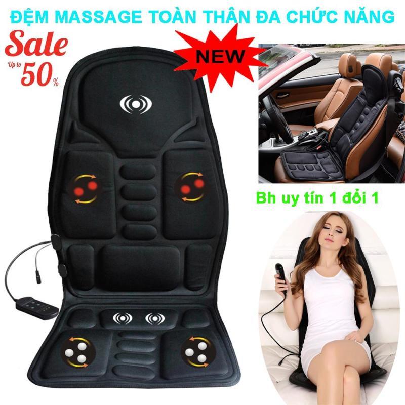Nệm (Đệm) massage toàn thân Elip - Ghế Mát Xa Đa Năng Toàn Thân giảm stress, lưu thông khí huyết, giảm đau nhức toàn cơ thể dùng cho mọi lứa tuổi