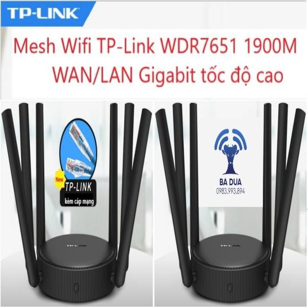Bảng giá Bộ Phát Wifi Mesh Wifi ghép nối Gigabit Tplink TP-Link  WDR7651 1900Mbps Phong Vũ
