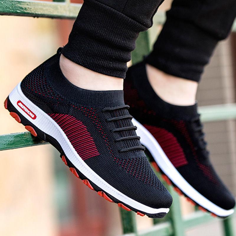 Giá Tiết Kiệm Để Sở Hữu Ngay Giày Thể Thao Nam Sneaker Vải Thoáng Khí Mẫu Mới HOT 2020