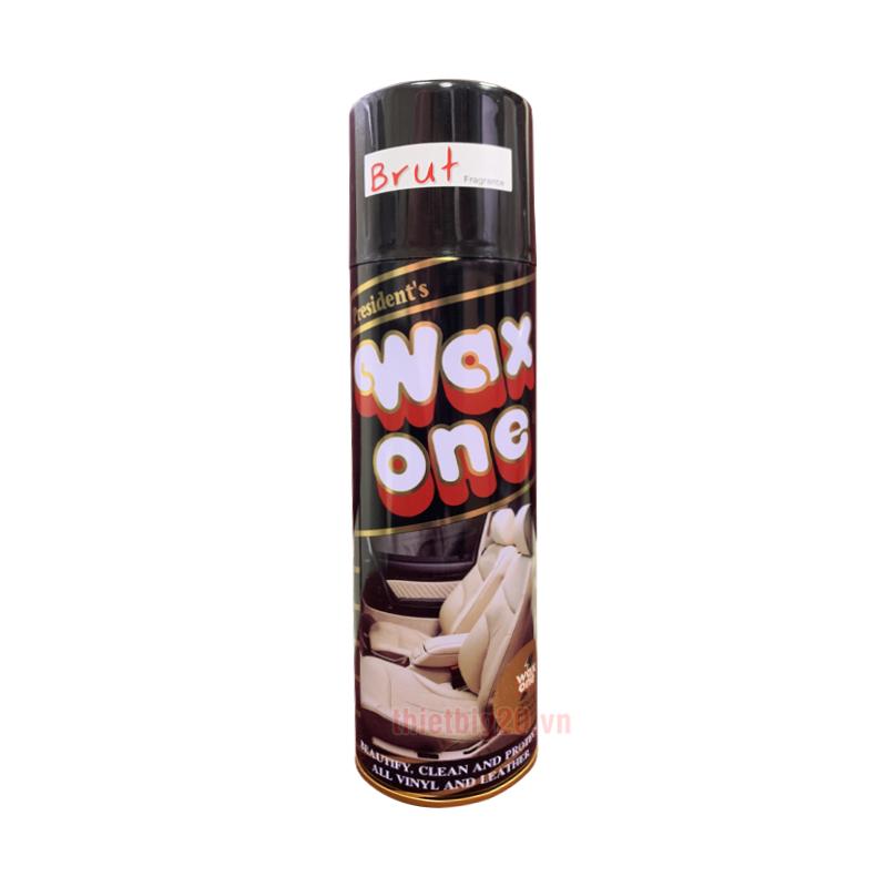 Chai xịt bóng đa năng đồ da, đồ gỗ, nội thất ô tô Wax One Thái Lan - 450ml