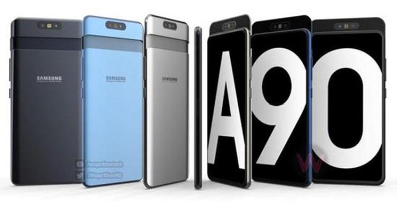 Điện thoại Samsung Galaxy A90-Hàng mới 100%, Nguyên seal, Bảo hành 12 tháng