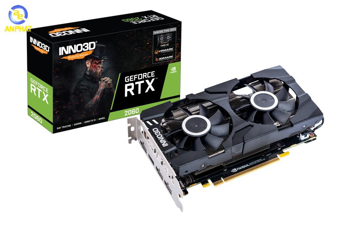 VGA Card Inno3D GeForce RTX 2060 TWIN X2 6GB GDDR5