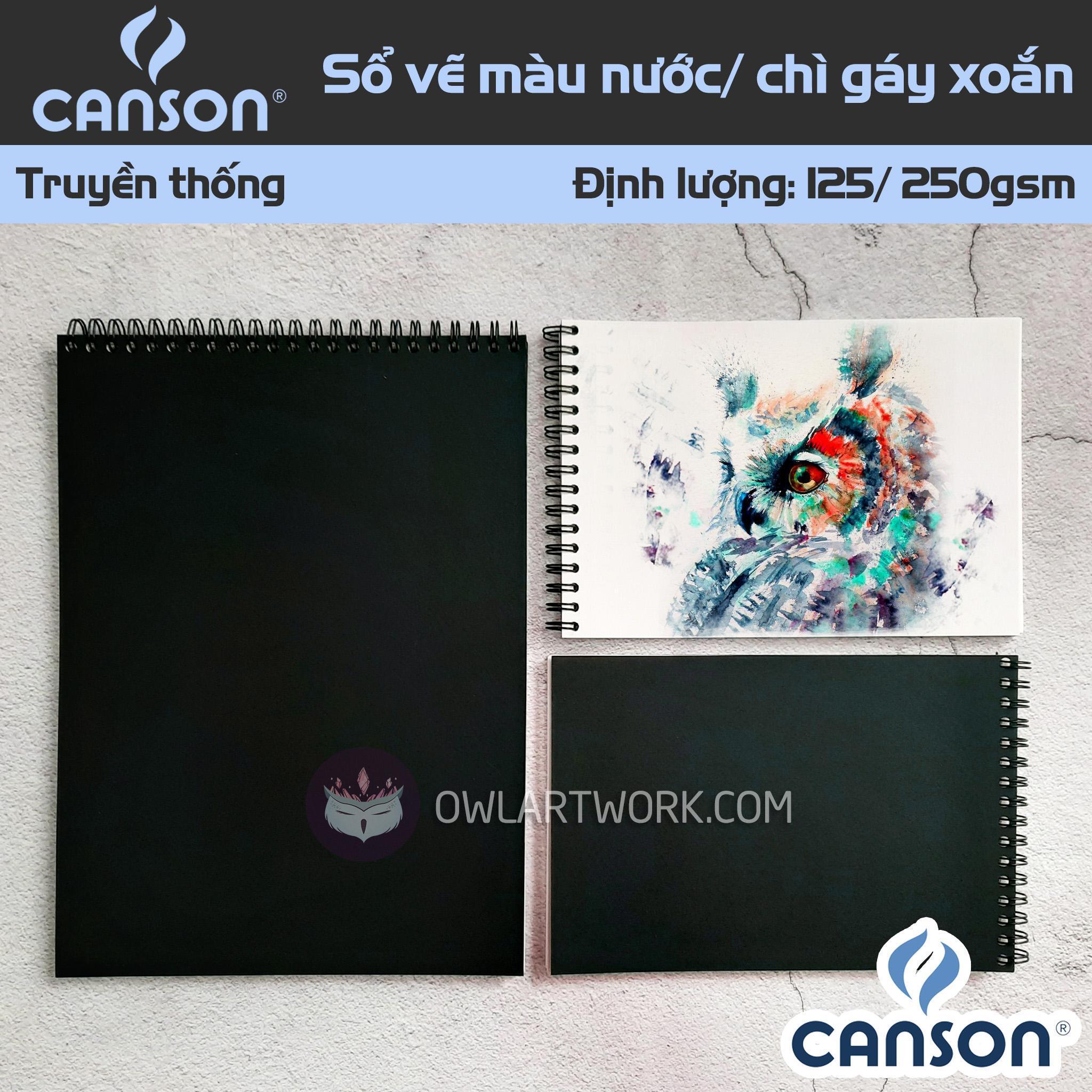 Mua Sổ Giấy Vẽ CANSON truyền thống 125-250gsm