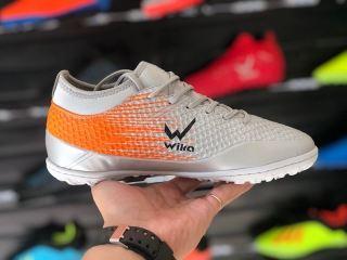 Giày đá bóng Wika Flash đã khâu đế đủ size, giày đá banh sân cỏ nhân tạo chính hãng thumbnail