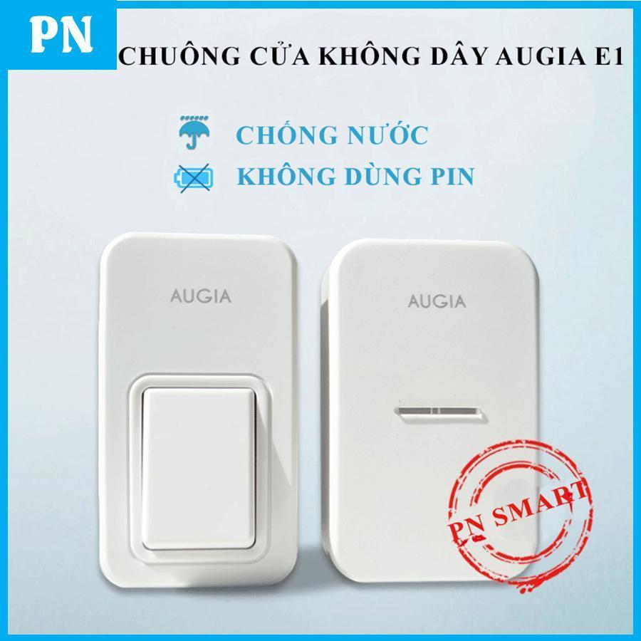 Chuông cửa không dây chống nước, không dùng pin AUGIA E1