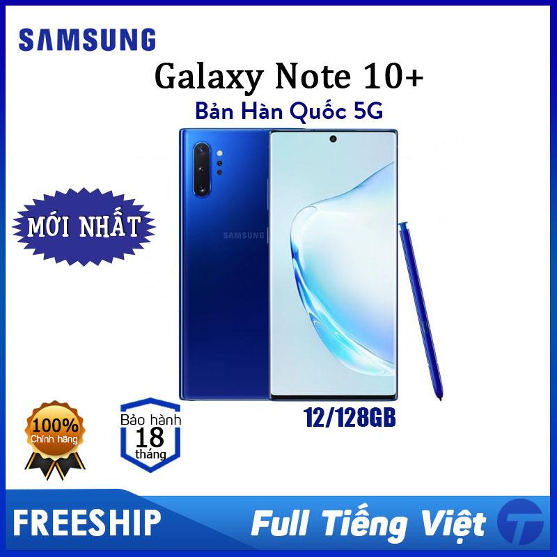 [HÀNG MỚI] Samsung Galaxy Note 10 Plus bản Hàn Quốc 5G - Ram 12GB/128GB, Full Tiếng Việt - Bảo hành 18 tháng