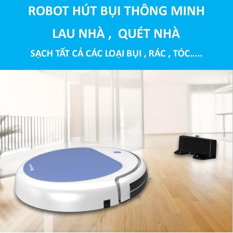 Robot Osin SMART PRO OS1 hút bụi lau quét nhà Có Remote điều khiển - Cảm biến chống va chạm