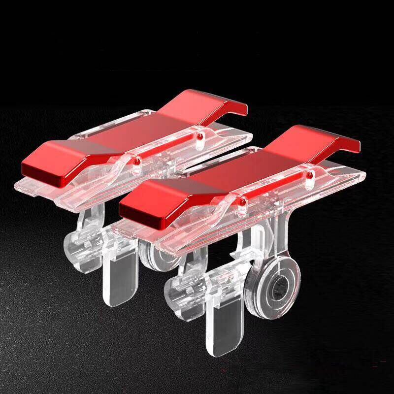 Bộ 2 Nút Bấm E9 Chơi Pubg Mobile, Ros mobile Nút Cơ Tạch Tạch Cực Nhạy