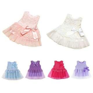 (CHỌN MÀU) Đầm tutu phối nơ, váy công chúa, váy ren, đầm tiệc, đầm xòe, đầm sát nách ren lưới