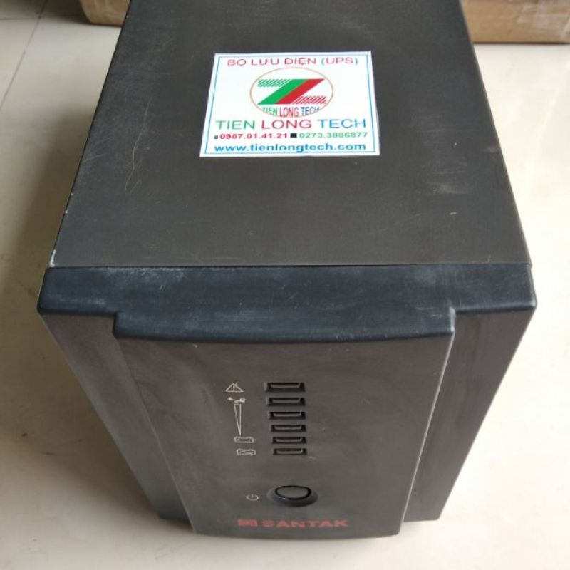 Bảng giá BỘ LƯU ĐIỆN (UPS) SANTAK BLR1000 (1000VA-600W) Phong Vũ
