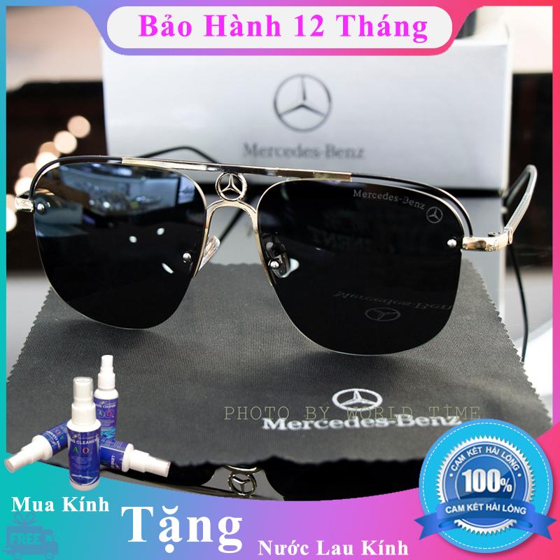 Mua Kính mát nam cao cấp Benz M1366 full box, thẻ bảo hành 12 tháng, tròng Polarized, chống chói, chống loá, chống tia UV400