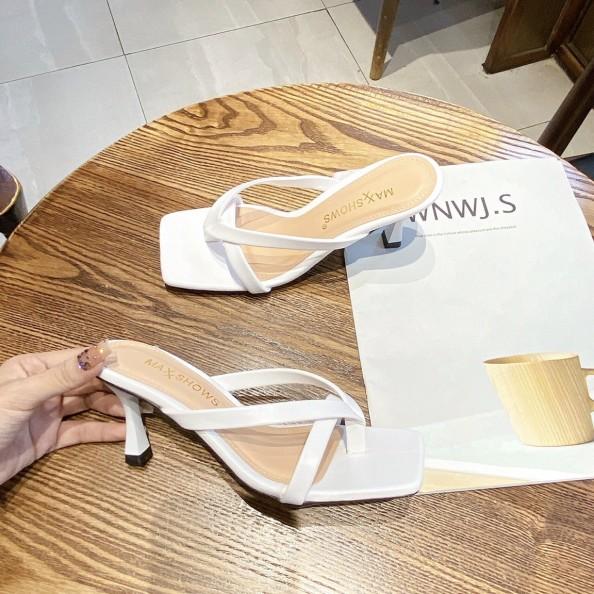 Dép kẹp nữ sandal xỏ ngón nữ cao cấp cao 6 phân siêu xinh giá rẻ