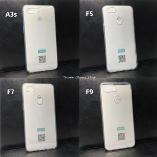 Ốp silicone dẻo trong suốt Tota đủ dòng Oppo A3s F5 F7 F9 F11 Pro F11 F3 A37 A59 A71 thumbnail