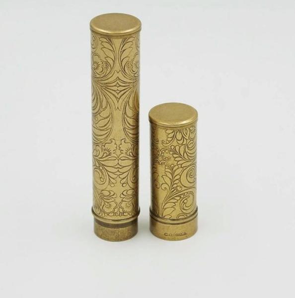 Ống đựng xì gà bằng đồng HB 022