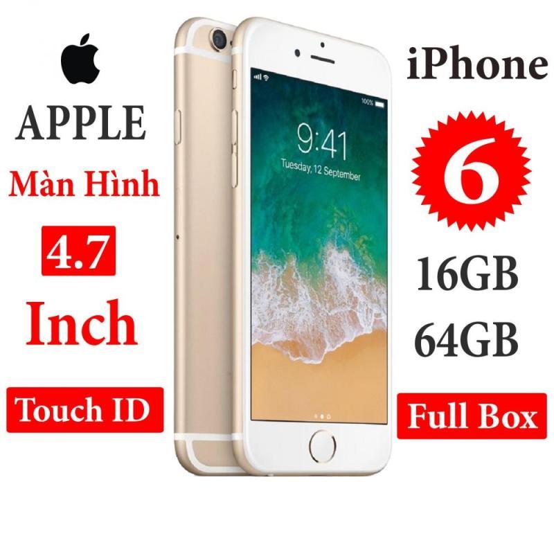 Điện thoại Apple iPhone 6 - 16GB 64GB Bản quốc tế  Full box  Full phụ kiện - Bảo hành 6 tháng - Đổi trả miễn phí - Yên tâm mua sắm với Mr Cầu ( Điện thoại giá rẻ, điện thoại smartphone, Điện thoại thông minh)