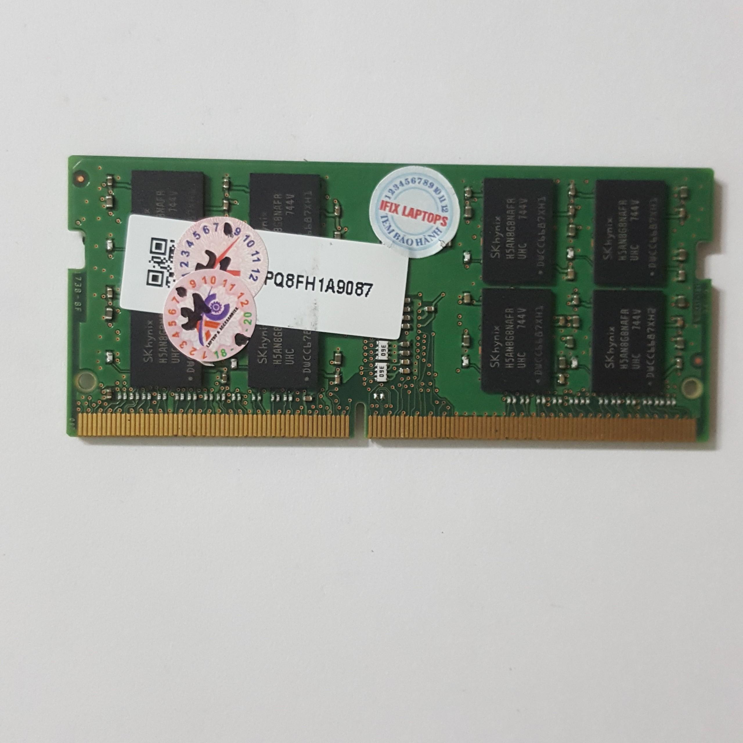 Ram laptop DDR4 16GB bus 2400( nhiều hãng)samsung/hynix/kingston/micron, crucial...