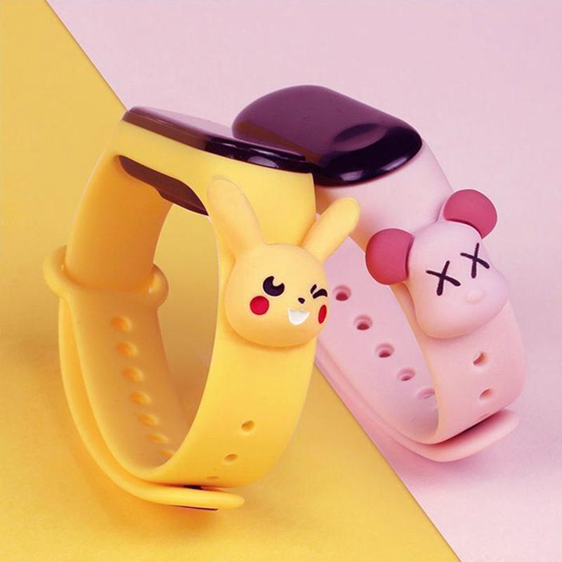 Nơi bán Childrens Multifunctional Led Luminous Calendar Wristwatch Boys Girls Student Waterproof Sports Wristband