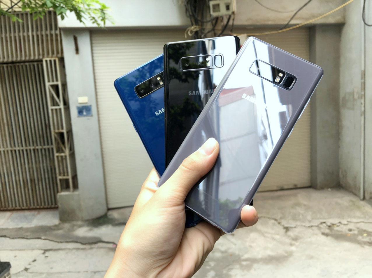 Cơ Hội Giá Tốt Để Sở Hữu Điện Thoại Samsung Galaxy Note 8 - Zin100% - Tặng Sạc Cáp Và Que Chọc Sim