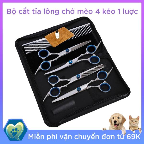 Bộ Lược Kéo Cắt Tỉa Lông Chó Mèo – Thế Giới Thú Cưng GTLKK52