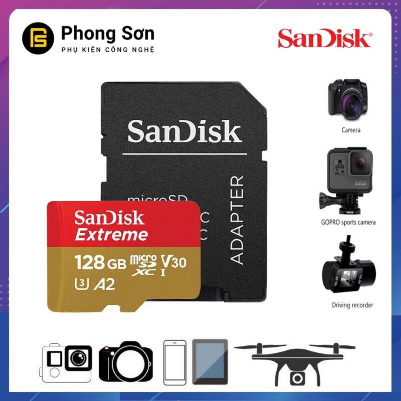 Thẻ nhớ Micro SDXC 128GB Extreme 667X 100mb/s UHS-1 Sandisk