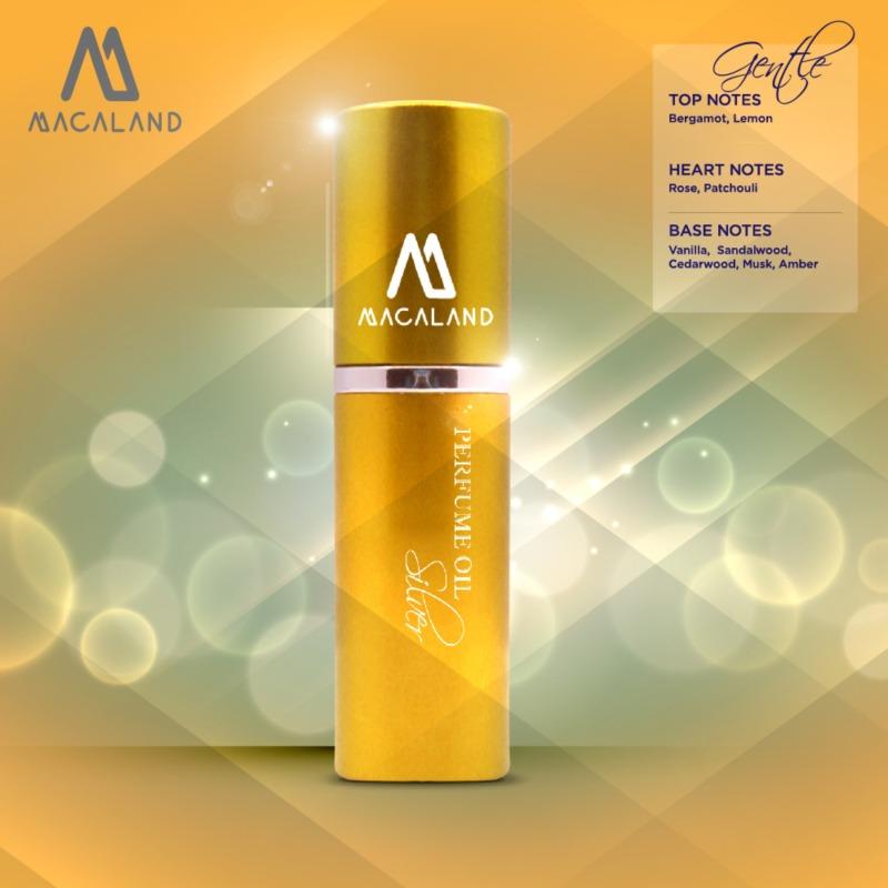 Nước hoa unisex Silver MACALAND 10ml dạng xịt dành cho nam và nữ ưa thích hương mát mẻ nhẹ nhàng