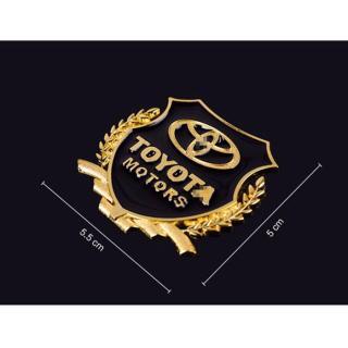 Combo 2 Logo huy hiệu VIP của hãng Honda và logo đơn dành cho ô tô, xe máy kích thước 5.5cm x 5.5cm 3