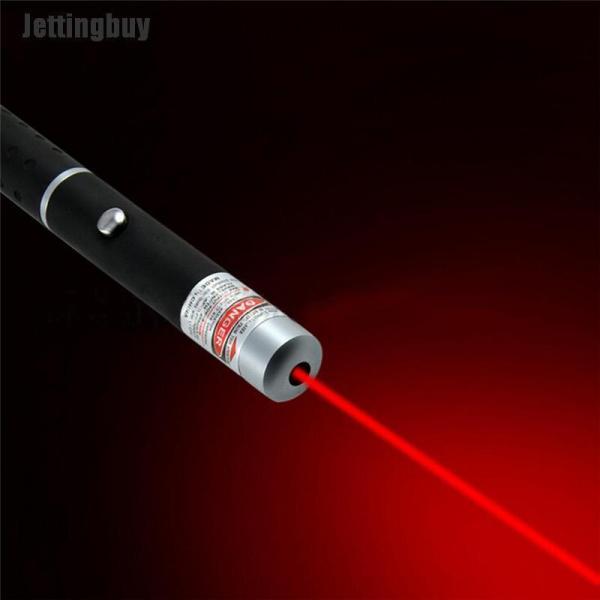 Jettingbuy Bút Con Trỏ Ánh Sáng Màu Xanh Lá Cây/Đỏ Mạnh Mẽ 5Mw 532nm, Mới