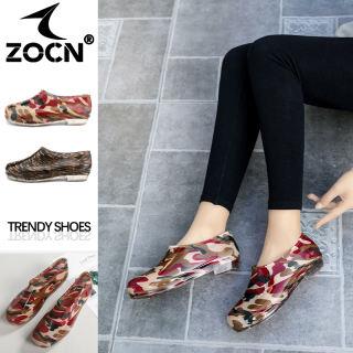 ZOCN Phụ Nữ Giày Dụng Cụ Giày Không Thấm Nước Mưa Khởi Động Giày Vải Pha Lê Dễ Đi Du Lịch Cho Nữ